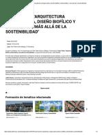 Open Talent _Arquitectura Regenerativa, Diseño Biofílico y Biomimética, más allá de la Sostenibilidad_