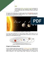 universo e o sistema solar