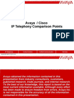 Avaya vs Cisco Comparison