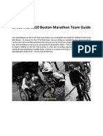 CYCLE Kids 2011 Boston Marathon Team Guide