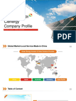 Clenergy Company Profile 2019