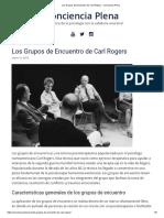 Los Grupos de Encuentro de Carl Rogers - Conciencia Plena.pdf