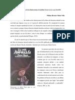 Matices dinámicos de las ilustraciones de Julián Cicero en La cosa horrible Willian Villota Villa