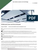 8 ideias para inovar com forro de drywall - Blog RC Pisos.pdf