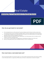 Leads for Real Estate | Best Ways to Find Leads For Real Estate