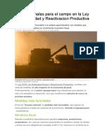 Buenas y malas para el campo en la Ley de Solidaridad y Reactivacion Productiva.docx