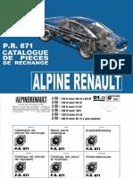 PR-871 - Alpine Renault A110