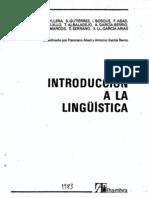La planificación lingüística