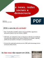 Fake nes, redes sociais e democracia - palestra-convertido