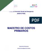 Guía de Costos No 12 - Catálogo de Costos unitarios Primarios.pdf