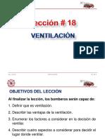 DP-18 Ventilación
