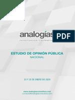 Encuesta Analogía deuda externa
