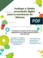 Duolingo y Quizizz en la enseñanza de Inglés
