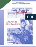 GAO Social Security Reform