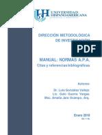 Direccion Metodologica de Investigacion