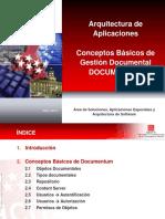 Arquitectura de Aplicaciones. Conceptos Básicos de Gestión Documental DOCUMENTUM