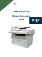 Manual de Impresora Xerox Work Centre PE220
