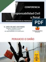 RESPONSABILIDAD CIVIL Y PENAL