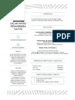 CV Oscar Mateo Peñaherrerra