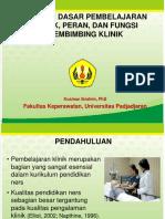 2. Konsep dasar pembimbingan klinik