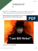ALEX JONES IS REALLY BILL HICKS