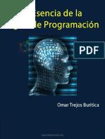 La Esencia de la Lógica de Programación - Omar Trejos Buritica - 1ra Edición.pdf