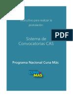 Instructivo de Postulación CAS