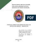 POTENCIAL TURÍSTICO DEL DISTRITO DE CHARACATO, Arequipa.pdf