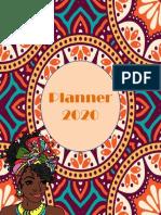 planner afro feminino