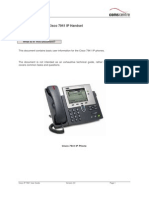 7941 Handset User Guide