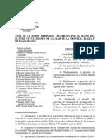 Pleno de 27 mayo 2010