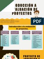 Introducción a la evaluación de proyectos