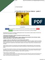 Entrevista sobre a importância da Criança Interior - parte 2