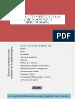 Abordaje terapéutico de las complicaciones de quimioterapia.pptx