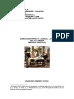 Morfología Nominal I-II Declinación