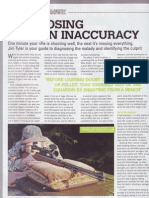 Diagnosing Sudden Inaccuracy