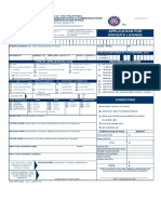 Application Drivers License