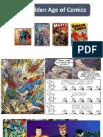 Golden age of comics