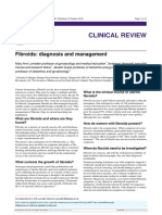 fibroids diagnosis and management