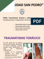 TRAUMATISMO TORAXICO Y ABDOMINAL (1)