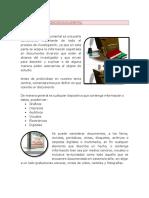 Tecnicas de Investigación Documental.docx