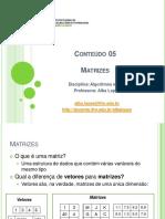 Conteudo 05 - Matrizes_JAVA
