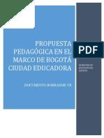Propuesta pedagógica 2017