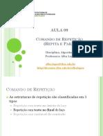 Aula 09 - Comando de Repeticao Repita e Para.pdf