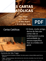 AS CARTAS CATÓLICAS
