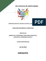 Practica 05 CIRCUITOS ELECTRICOS II