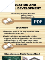 Education and Social Development.pptx