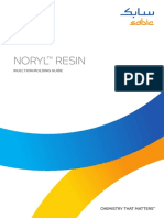 SABIC NORYL Resin Injection Molding Processing Guide