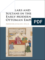 Abdurrahman Atçıl - Scholars and Sultans in the Early Modern Ottoman Empire-Cambridge University Press (2017)