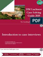 IIM Lucknow Case Solving Guide 2019